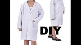 DIY DOCTORS/LAB COAT FOR KIDS |COSTUME |THRIFT TRANSFORMATION