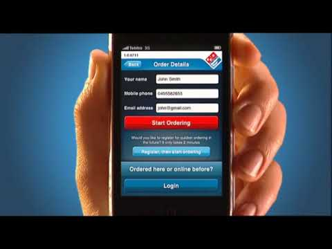 Domino's Pizza Order App Now On iTunes