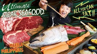 ULTIMATE Japanese STEAK & SEAFOOD BRUNCH in Manila Philippines