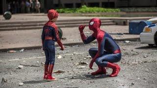 Человек-паук против Носорога | Новый Человек-паук Высокое напряжение 2014 (1080p)