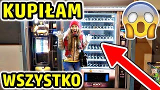 Kupuje WSZYSTKO 😱 Pusty Automat z Jedzeniem ❌ Ile WYDAŁAM 🤑?