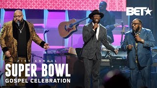 Commissioned Closes Out Show With A Medley Of Their Greatest Gospel Hits | Super Bowl Gospel 2020