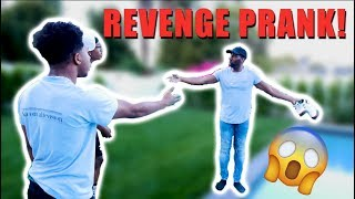 THREW HIS $500 SHOES IN THE POOL! *REVENGE*