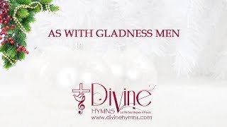 As With Gladness Men Of Old Christmas Song Lyrics Video