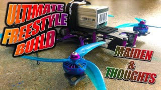 DJI FPV HD DIY Ultimate Freestyle Drone Maiden & Final Thoughts