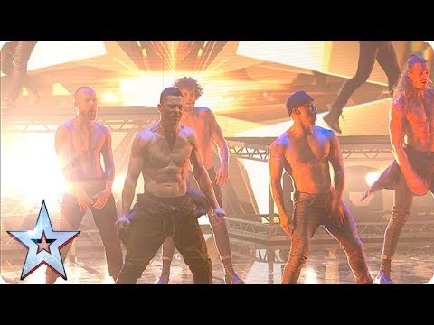 Things HOT UP With Channing Tatum And The SIZZLING Stars Of Magic Mike! | The Final | BGT 2018 Mp3