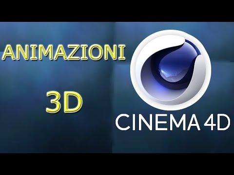 Cinema 4D Tutorial - Animazioni 3D - ITALIANO