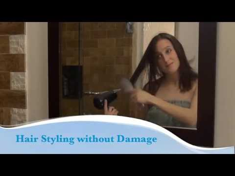 Prevent Damage To Your Hair By Letting It Dry Partially Before Styling