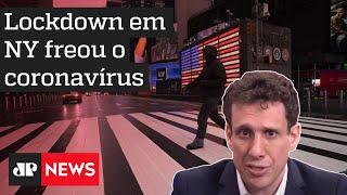 Samy Dana: Estudo mostra que lockdown em Nova York freou avanço da Covid-19