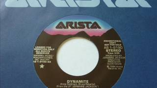 Jermaine Jackson - Dynamite  45rpm promo single