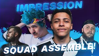 I Blew Their MINDS With This Impression (Ninja, Tim & 72hrs Fortnite Squads)