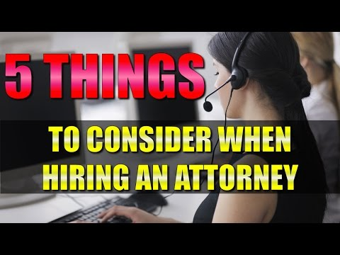 Personal Injury Lawyer: Top 5 facts to consider when finding the right attorney