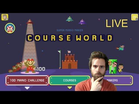 Super Mario Maker {LIVE STREAM} - 45,000 SUBSCRIBERS?