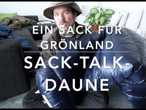 Sack-Talk-Daune (Ultralight von Western Mountaineering)