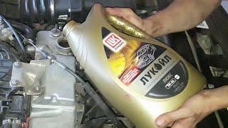 Замена моторного масла на Приоре