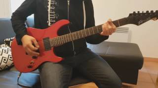 Evergrey-Dark waters (Guitar Cover)