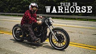 Honda Shadow Bobber Reveal   Warhorse
