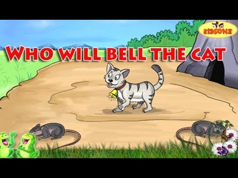 Who Will Bell The Cat || Moral Stories || Animated Stories in English