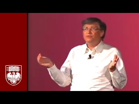 Bill Gates Speaks At The University Of Chicago On Giving Back