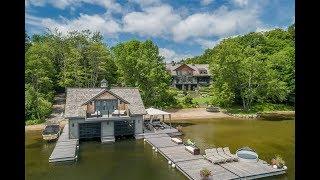 Majestic Lakefront Mansion In Muskoka, Ontario, Canada   Sothebys International Realty