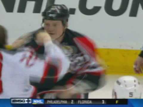 David Clarkson vs Chris Neil