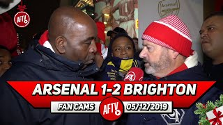 Arsenal 1-2 Brighton | The Board Will Stick With Ljungberg So They Don't Have To Spend!