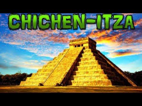 CHICHEN ITZA Mayan Ruins Mexico 4K