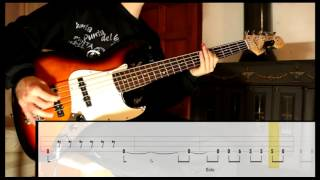 Enter Sandman   Metallica [Bass Cover WITH TABS] (Playalong)