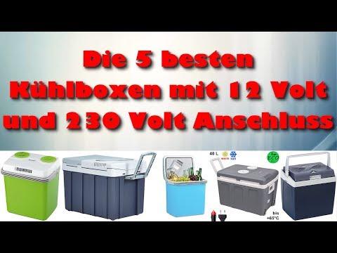 Die 5 besten elektrischen Kühlboxen mit 12 Volt und 230 Volt Anschluss Test