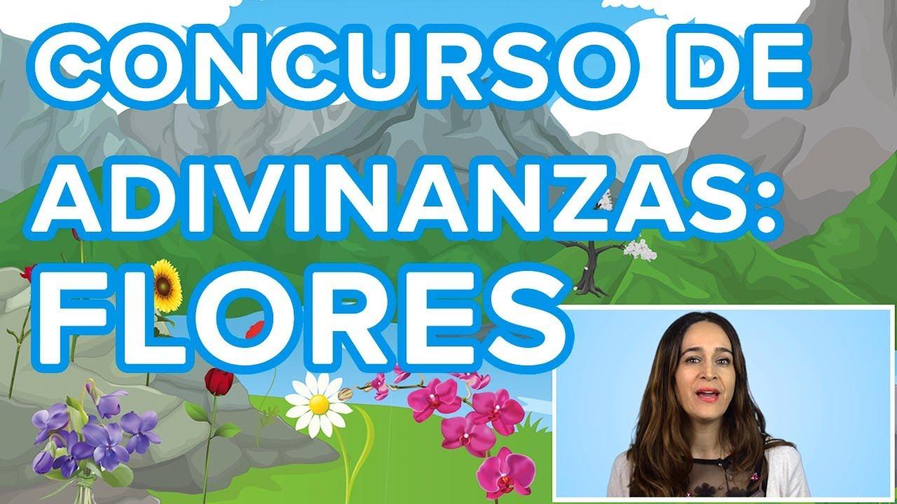 Concurso de adivinanzas para niños: flores | Descubre si eres un pequeño genio