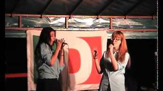 Poker Face - Lady Gaga Piano Version - Live By Valentina&Silvia (Glee Version)