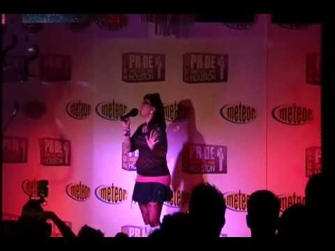 Houston Pride Idol semifinals - Nina Lombardo (Supremes/Diana Ross, Madonna)