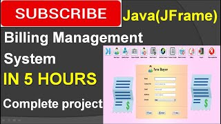 Billing Management System in java (JFrame, Netbeans, Mysql) Complete Project (step by step)