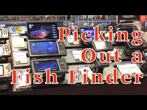 Picking Out a Fishfinder