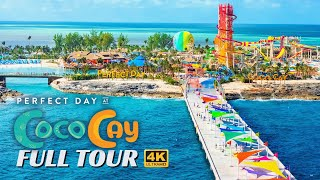 Perfect Day Coco Cay   Full Walkthrough Tour & Review   Royal Caribbean   4K   2020