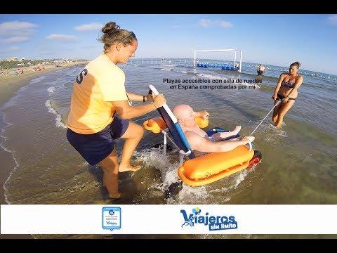 Playas accesibles con silla de ruedas en España comprobadas por mi