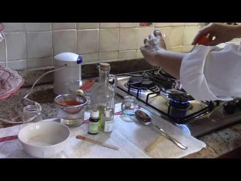 Le risposte di decolorazione di crema con una placenta