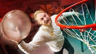 Playing Basketball With GLASS Challenge!