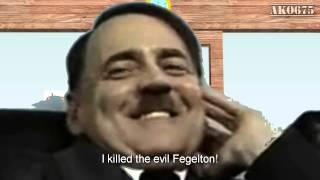 Hitler at the Krusty Krab