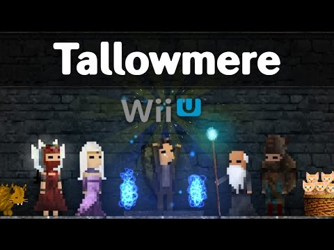 Tallowmere - Wii U - Gameplay Trailer thumbnail