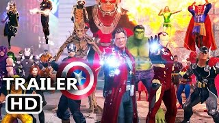 PS4 - Marvel Heroes Omega Trailer