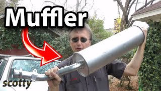 How to Replace a Muffler in Your Car