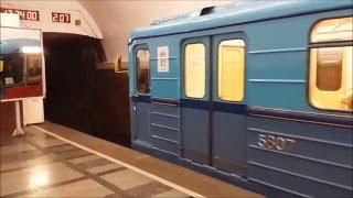 Парад поездов на Кольцевой линии 2016