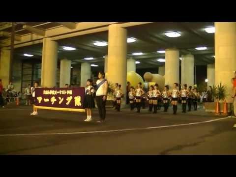 R178 7/30 天理小学校オーケストラ部マーチング隊 立教178年こどもおぢばがえり おやさとパレード