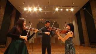 F.Hermann | Capriccio for 3 violins, Op. 2 | Jiyoon Lee | Niek Baar | Mayumi Kanagawa HD