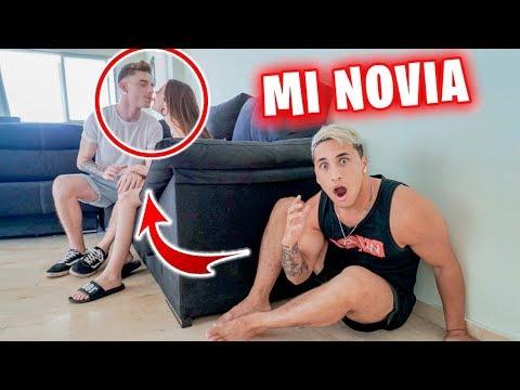 PASO LA NOCHE EN CASA DE MI NOVIA Y ELLA NO TIENE NI IDEA!! *24 HORAS CHALLENGE*