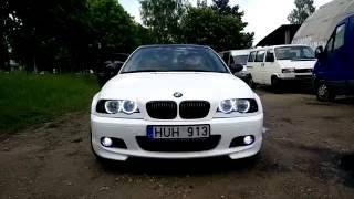BMW E46 white