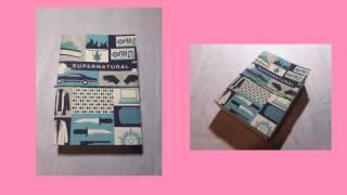 DIY SUPERNATURAL BOX| Коробочка по сериалу сверхъестественное|I V A