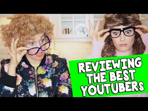 AUNTS REVIEW THE BEST YOUTUBERS // Grace Helbig