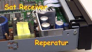 Reperatur eines Satelliten Receiver